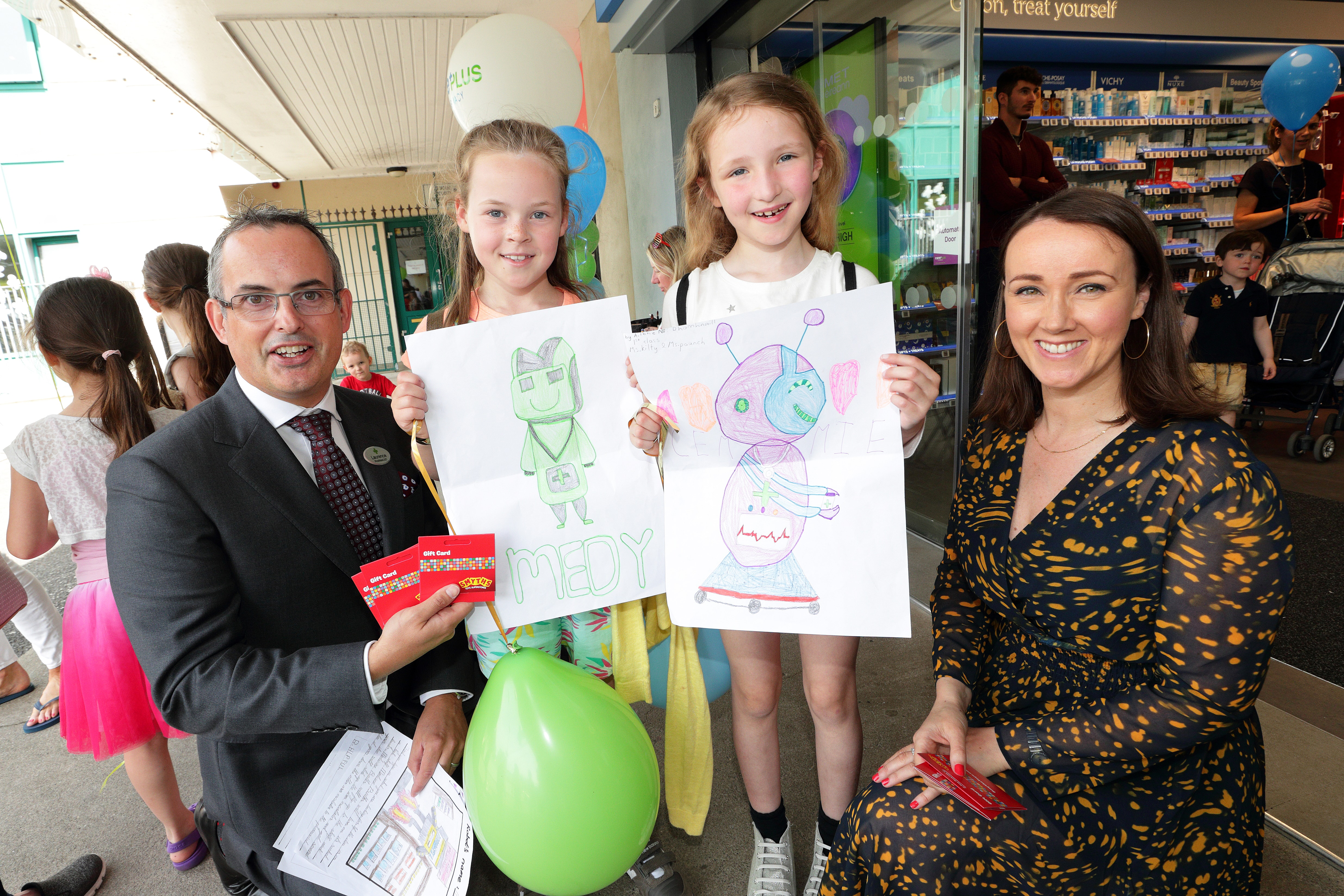 Grand Opening of Park CarePlus Pharmacy in Cabinteely, County Dublin, colouring competition