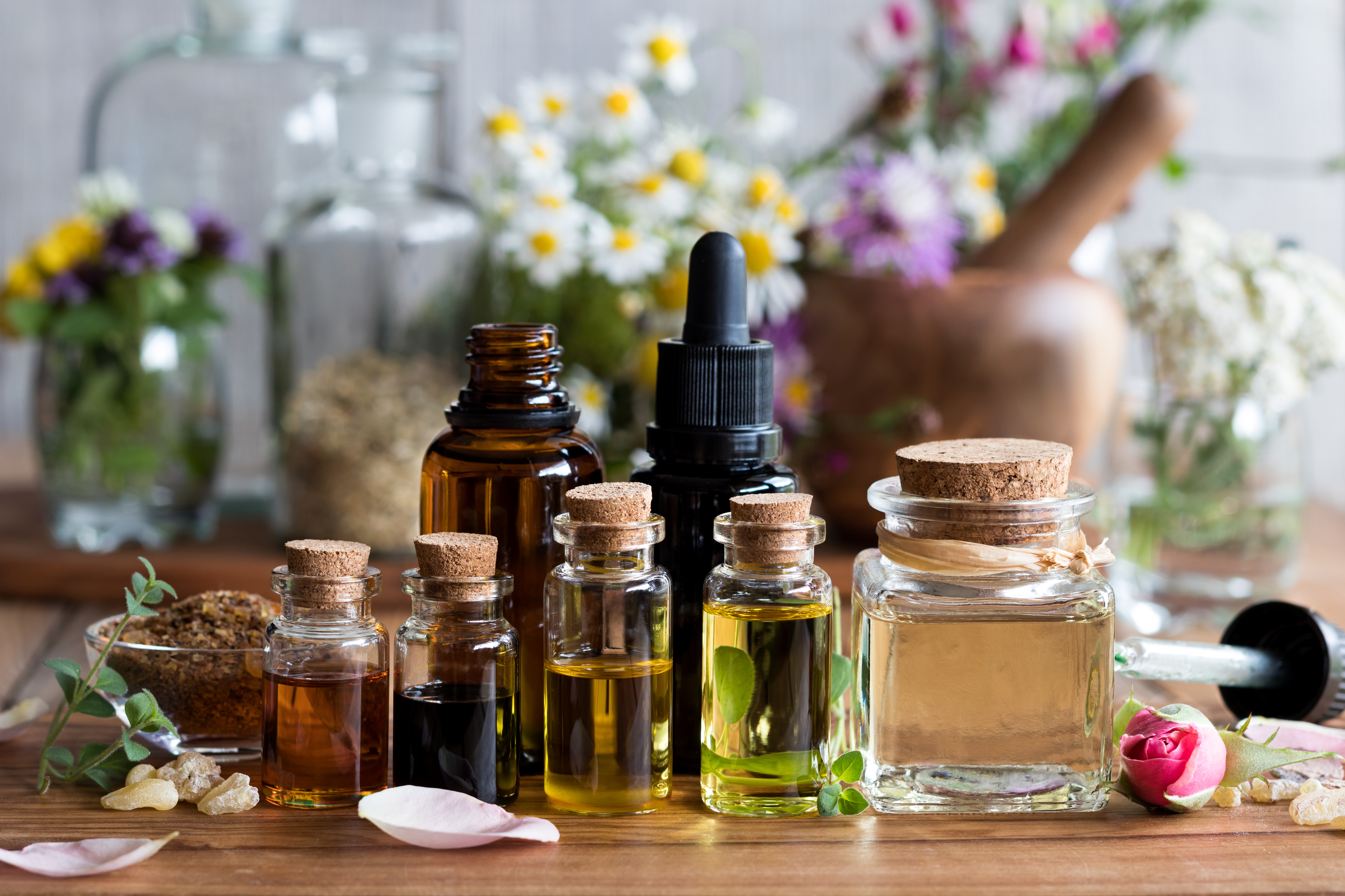 Glowing Skin Care Oils