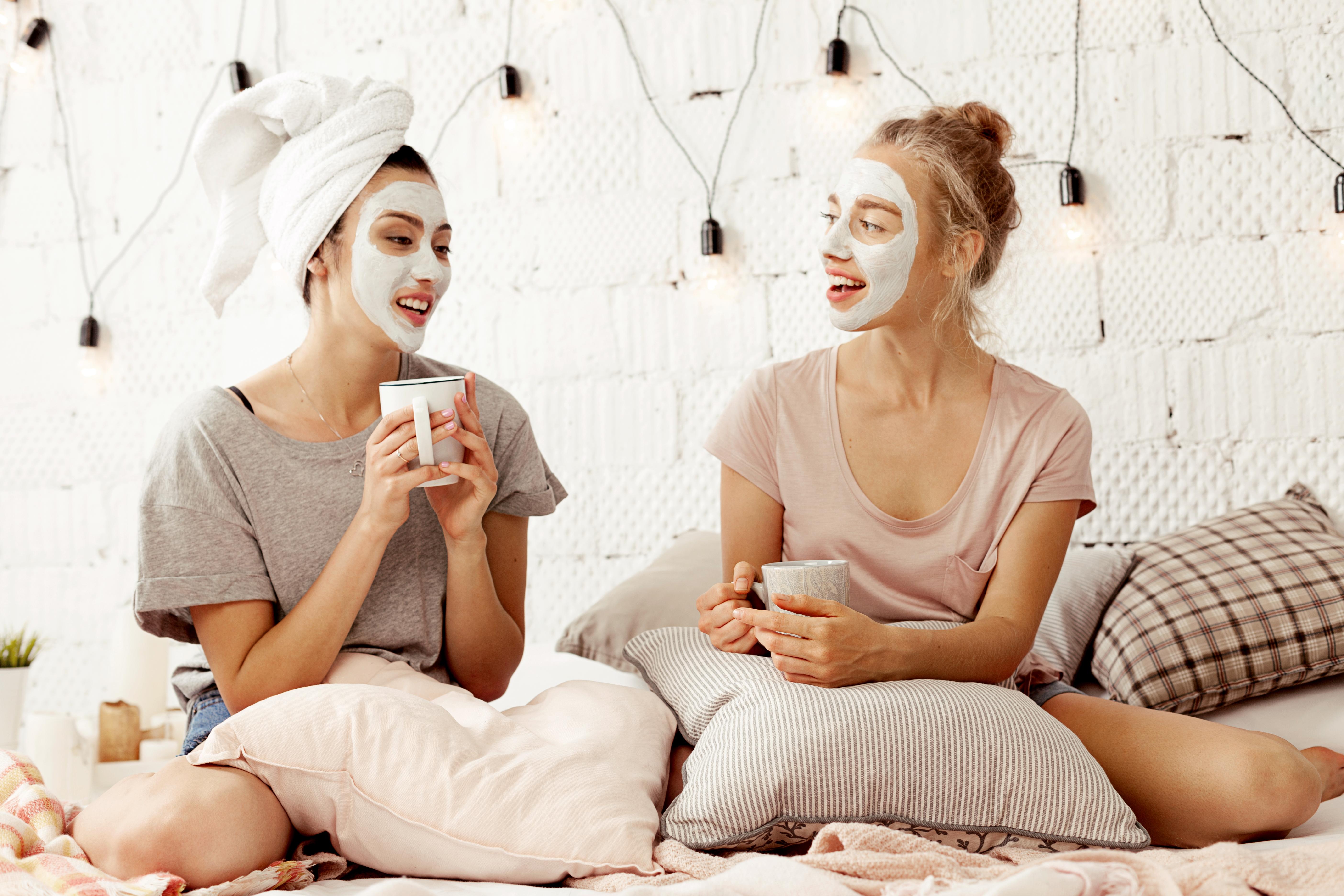Glowing Skin Care Mask