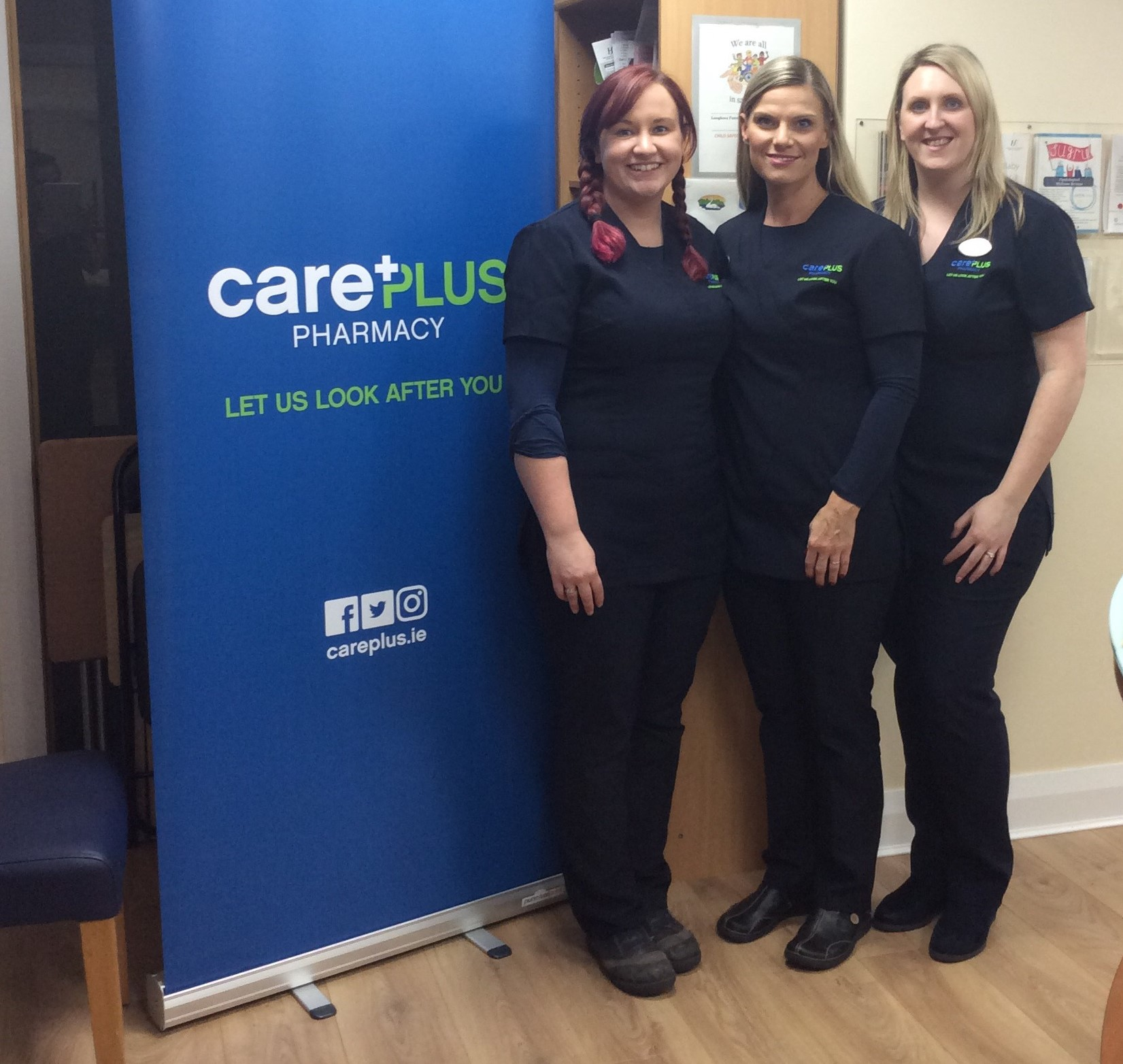 staff at Killian's CarePlus Pharmacy pediatric first aid event