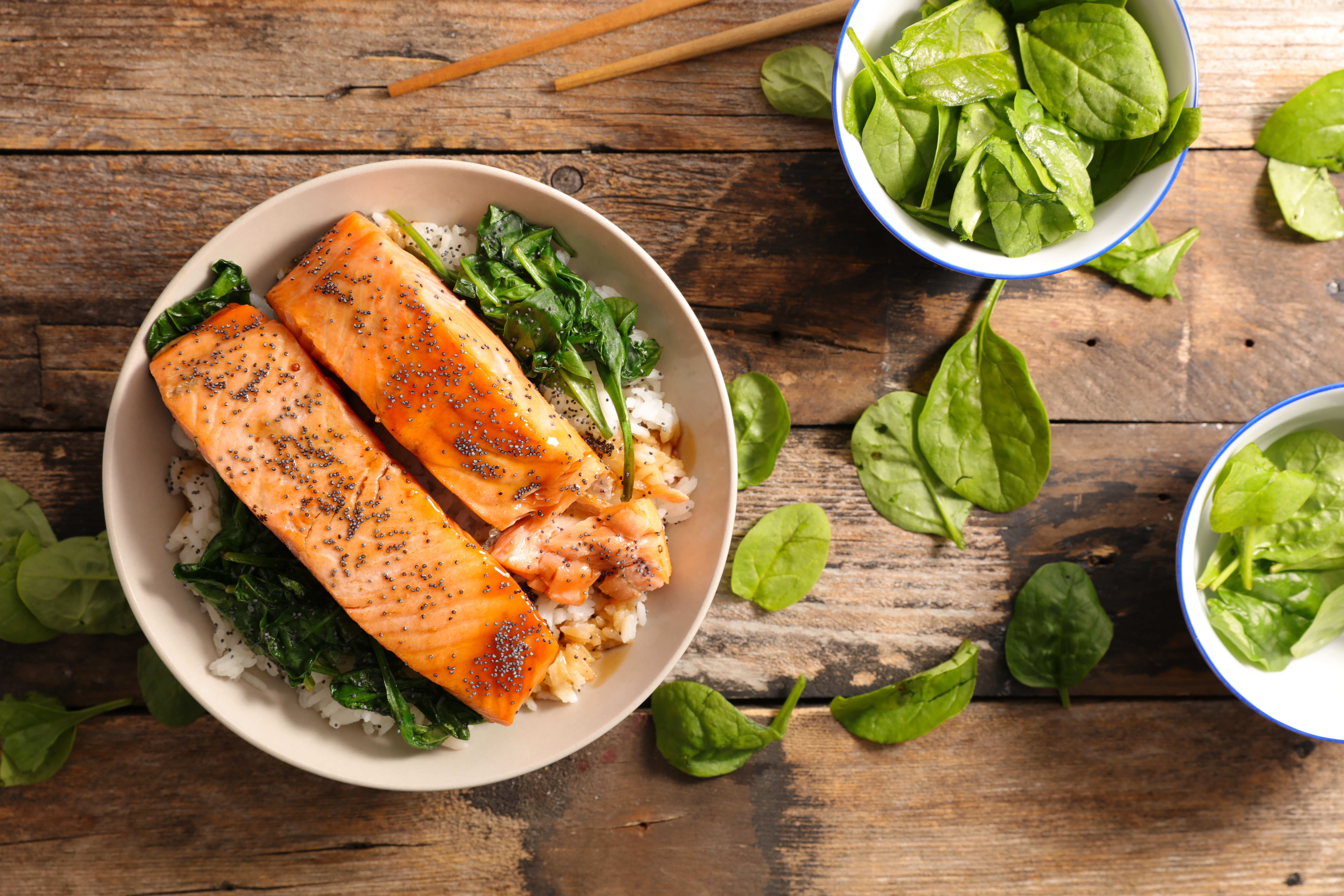 Fish, food to boost your mood, food to improve your mood